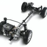 Общий вид подвески автомобиля
