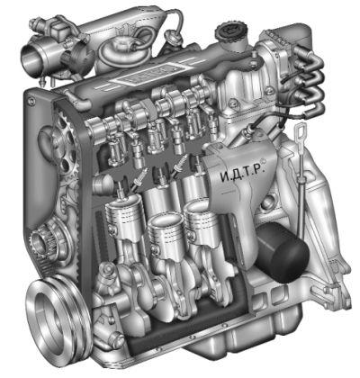 Двигатели, в которых