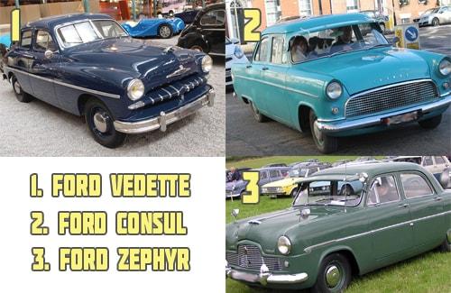 Форд Ведетт и другие