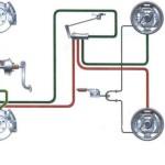 Схема тормозной системы переднеприводных автомобилей ваз