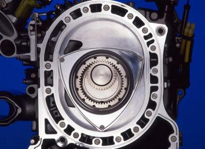 Принцип работы роторного двигателя