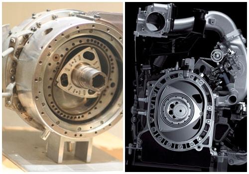 Виды роторных двигателей
