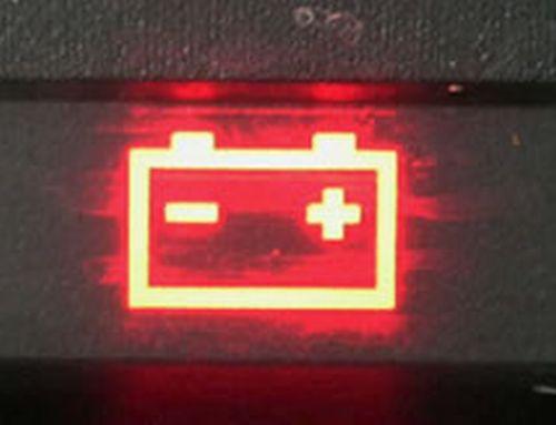 аккумулятор разряжен
