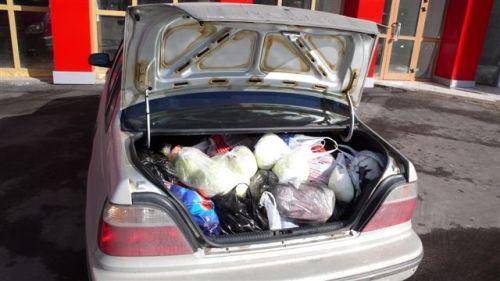 полный багажник