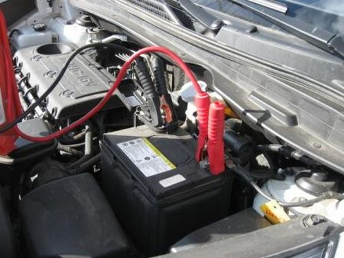 Зарядка аккумулятора автомобиля без снятия