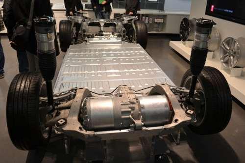tesla model s принцип двигателя
