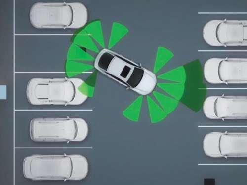 автоматическая парковка автомобиля