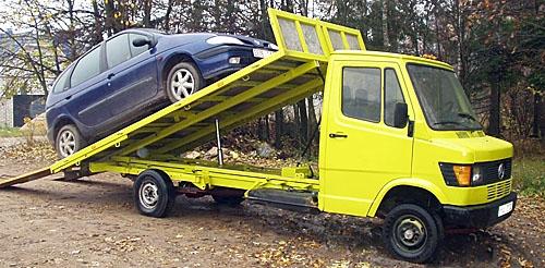 буксировка авто с автоматической коробкой передач