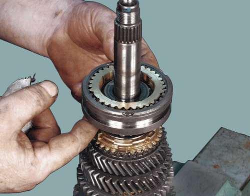 синхронизатор коробки передач ваз 2109