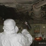 Самостоятельная шумоизоляция арок и днища автомобиля жидкой резиной