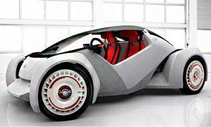 3D автомобиль strati