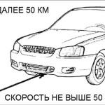 Правила буксировки автомобилей с автоматической и механической коробкой различными способами