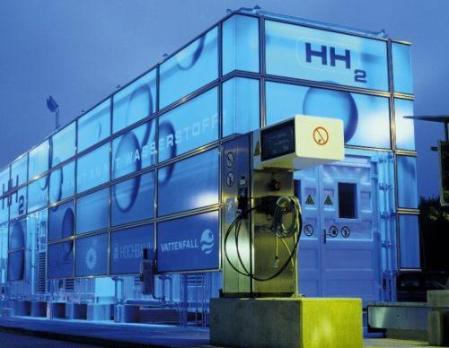 водородная заправка