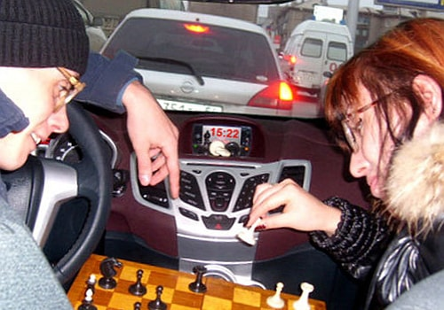 шахматы в пробке