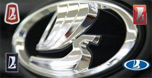 Новый объемный логотип ВАЗ