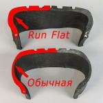 Технология Run Flat. Что это за резина и каким образом она работает