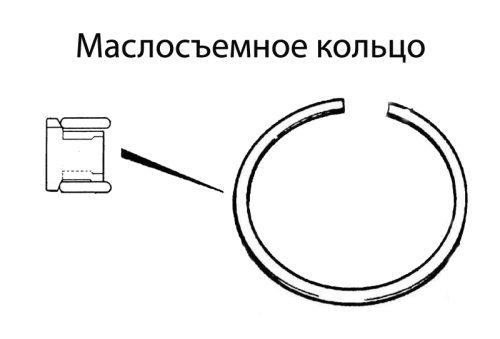 Маслосъемное кольцо