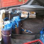 Впрыск воды в ДВС, форсирование двигателя внутреннего сгорания