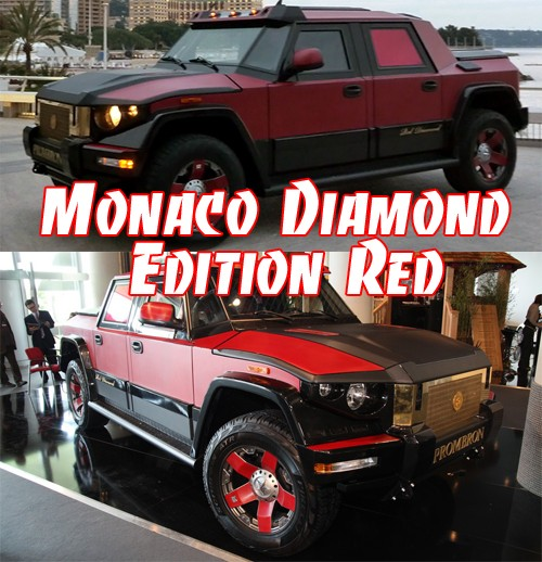 Monaco Diamond Edition Red