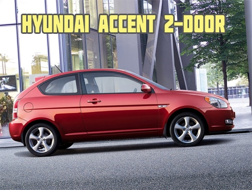 Hyundai accent 2-door