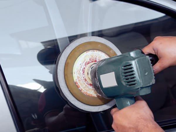 Полировка бокового стекла