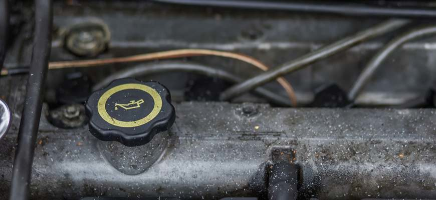 Система смазки автомобиля