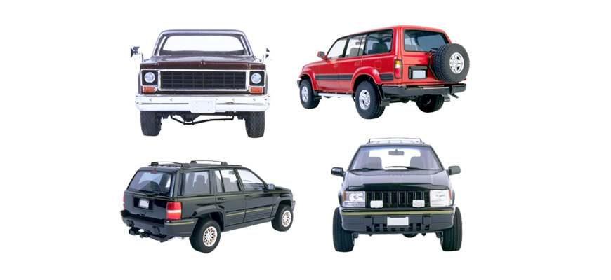 SUV класс - разница между кроссовером и внедорожником
