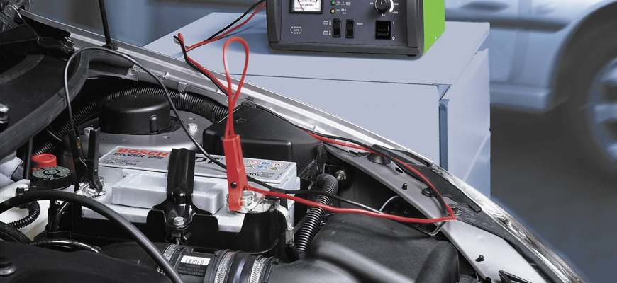 Зарядка аккумулятора без снятия