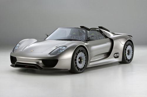 гибридный автомобиль Porsche