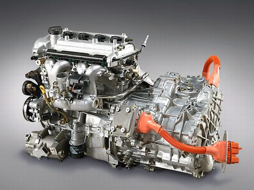 Гибридный двигатель
