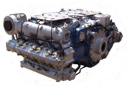 оппозитный дизельный двигатель