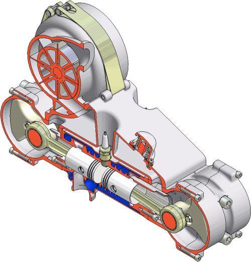 оппозитный танковый двигатель