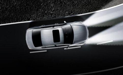 система адаптивного освещения дороги