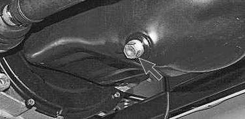 Порядок замены масла в двигателе
