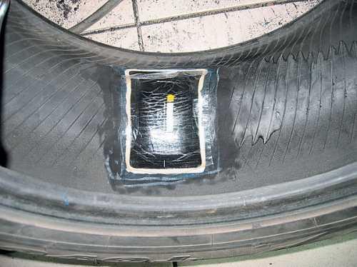ремонт боковой грыжи колеса