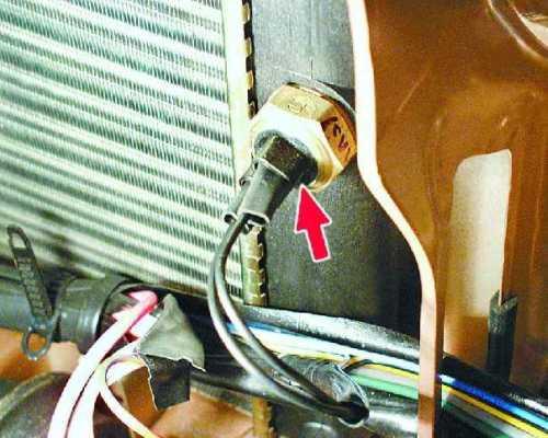 Термовыключатель вентилятор радиатора