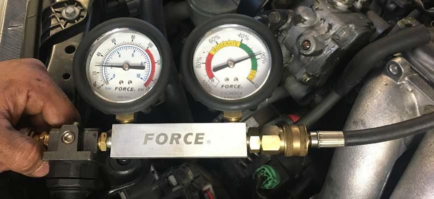 Как замерить компрессию двигателя
