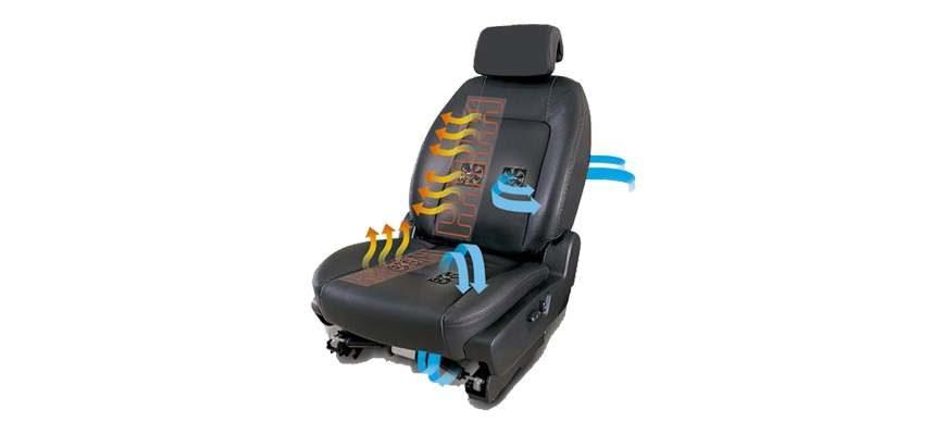 Вентиляция сидений