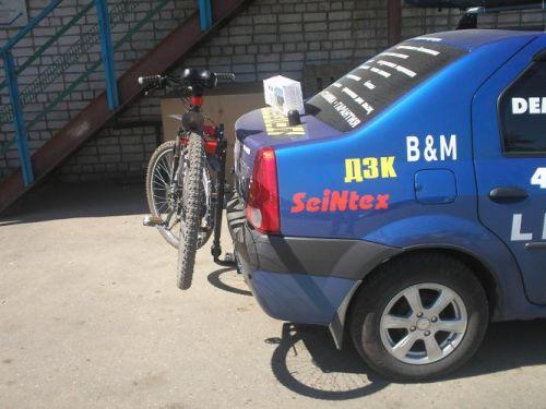 велокрепление для авто