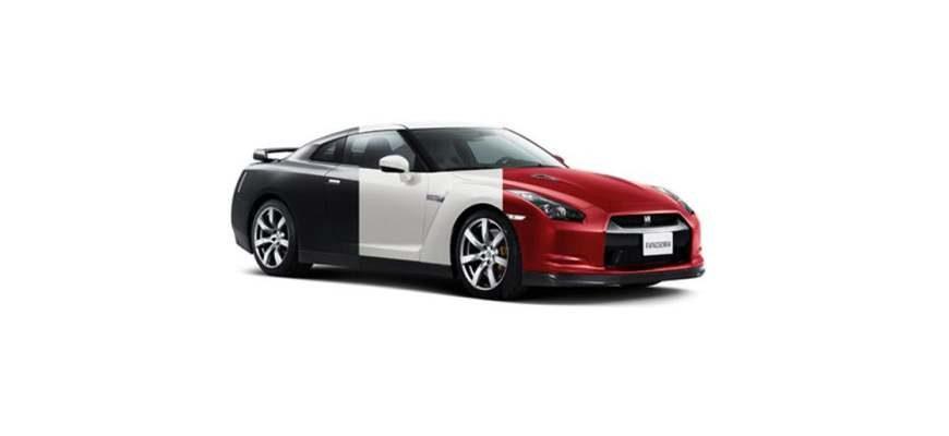 Замена цвета машины