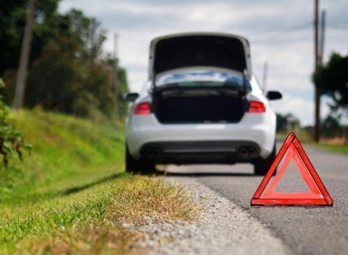 Выставить аварийный знак
