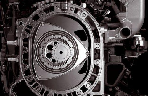 Работа роторного двигателя