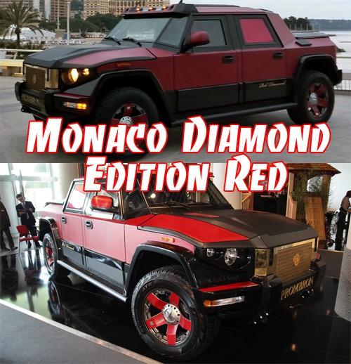 Monaco Diamond Edition Red