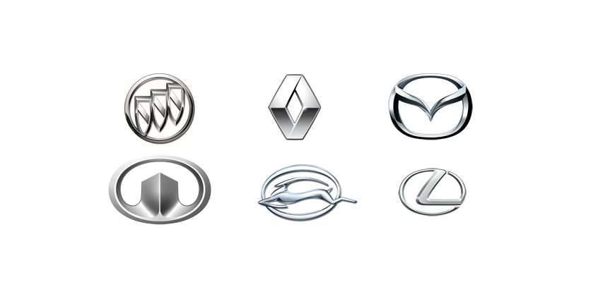 Эмблемы авто
