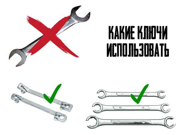 Какие ключи использовать
