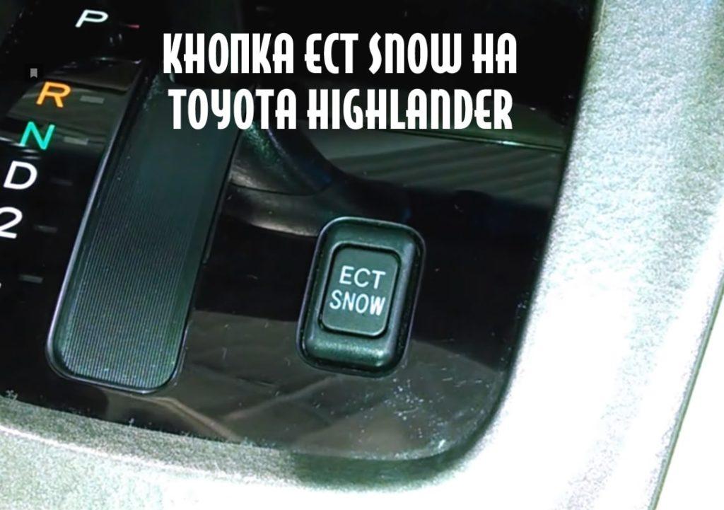 кнопка ect snow